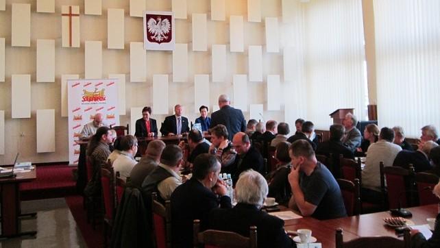 """Posiedzenie Zarządu Regionu Ziemi Łódzkiej NSZZ """"Solidarność"""" w Radomsku"""
