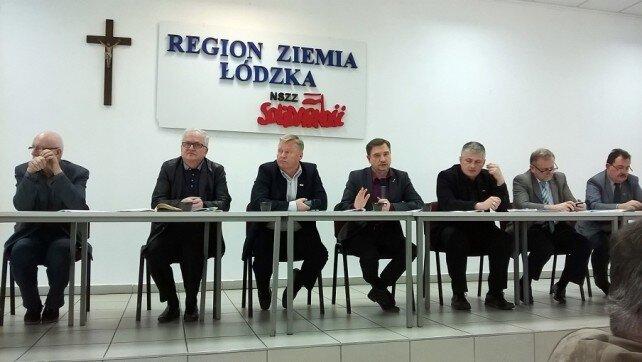 Przewodniczący KK w Łodzi