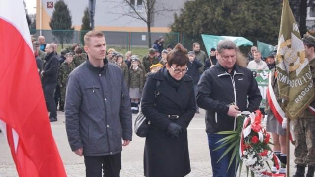 Dzień Pamięci Żołnierzy Wyklętych 2015 w Radomsku