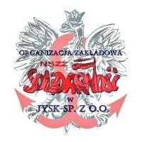Logo NSZZ ''S'' w JYSK (1)
