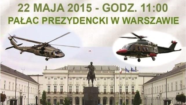 Unieważnić przekręt śmigłowcowy. Protest w Warszawie