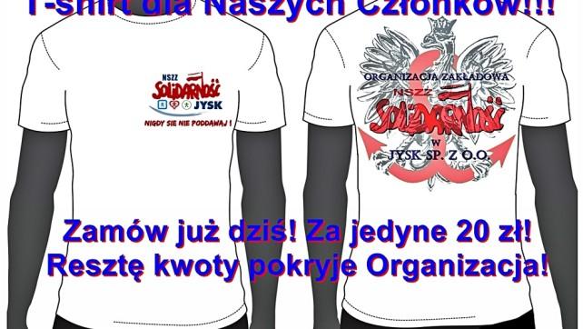 T-shirt dla Naszych Członków!!!