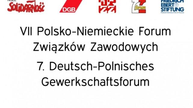 Już jutro VII Polsko- Niemieckie Forum Związków Zawodowych