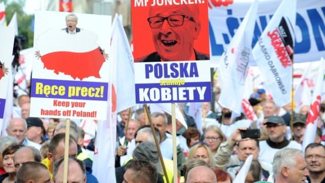 Solidarność protestowała przeciwko ingerencji Komisji Europejskiej