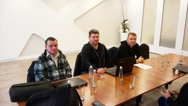 """Spotkanie Przedstawicieli NSZZ """"SOLIDARNOŚĆ"""" z Przedstawicielami Spółki JYSK z ramienia DCR"""