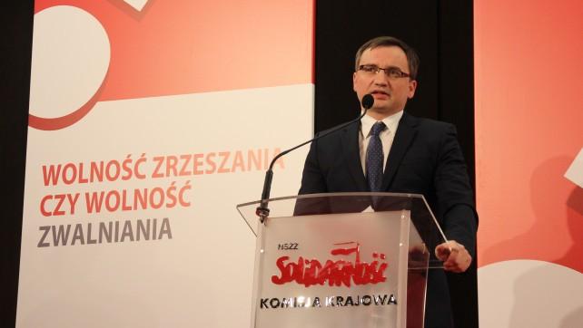 Zbigniew Ziobro: Będzie dobra zmiana również w obszarze praw pracowniczych