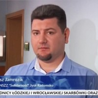 Tomasz Jamrozik NSZZ Solidarność