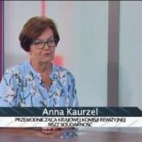 Anna Kaurzel przewodnicząca Krajowej Komisji Rewizyjnej NSZZ Solidarność
