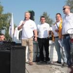 Pikieta Solidarności pod JYSK (1)