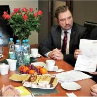 Spotkanie z ambasadorem Danii ws. JYSK - Foto KK