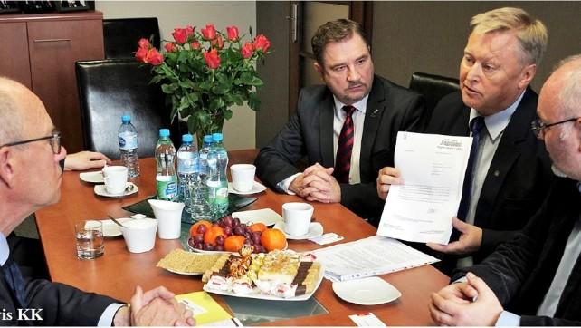 Spotkanie z ambasadorem Danii ws. JYSK