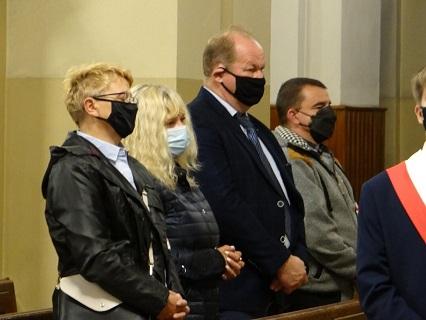 """41. rocznica powstania NSZZ """"Solidarność"""" w Radomsku."""
